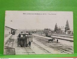 La Gare De La Brohiniere, Vue Générale - Bécherel