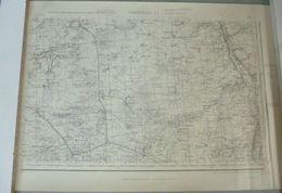 Carte I.G.N. : BEAUNE-la-Rolande / CHATEAU-LANDON - 1/50 000ème - 1941. - Cartes Topographiques