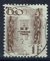 French Togo, 1f., Postage Due, 1947, VFU, Nice Postmark - Togo (1914-1960)