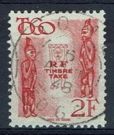 French Togo, 2f., Postage Due, 1947, VFU, Nice Postmark - Togo (1914-1960)