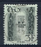 French Togo, 3f., Postage Due, 1947, VFU, Nice Postmark - Togo (1914-1960)