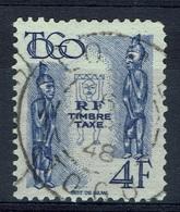 French Togo, 4f., Postage Due, 1947, VFU, Nice Postmark - Togo (1914-1960)