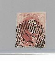België  N° 8A - 1851-1857 Medaillen (6/8)