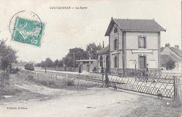CPA 51 - COURGIVAUX - La Gare - Francia