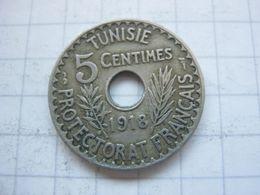 Tunisia , 5 Centimes 1918 - Tunisia