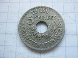 Tunisia , 5 Centimes 1920 (1338) - Tunisia