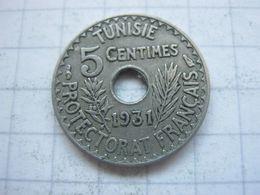 Tunisia , 5 Centimes 1931 - Tunisia