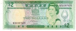 Fiji P.87 2 Dollars 1988   Unc - Fiji