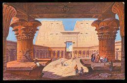EGYPT * CPA * POSTCARD * TEMPLE D' EDFOU (25) - Egypte