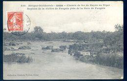 Cpa Du Soudan Chemin De Fer De Kayes Au Niger Rapides Rivière Fangala Près Gare Fangala     AVR20-78 - Sudan