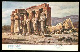 EGYPT * CPA * POSTCARD * RAMASSEUM AT THABES (26) - Egypte