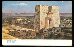 EGYPT * CPA * POSTCARD * TEMPEL Von EDFU (27) - Egypte