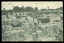 EGYPT * CPA * POSTCARD * ABYDOS  * TEMPLE RAMSES III (30) - Egypte