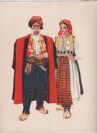 Costumes Nationaux Croates   Yougoslavie 1955 Dalmacija  Imotski  Vladimir Kirin - Non Classificati