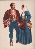 Costumes Nationaux Croates   Yougoslavie 1955 Dalmacija Split  Vladimir Kirin - Non Classés