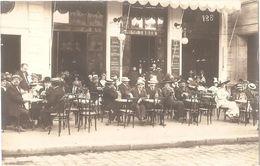 Dépt 49 - ANGERS (8, Place Du Ralliement) - CARTE-PHOTO Devanture CAFÉ GASNAULT (E. DETTON Successeur) - Angers