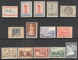 GREECE 1937 (Vl 493-505, 494A)  Historical Issue MNH - History