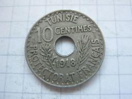 Tunisia , 10 Centimes 1918 - Tunisia