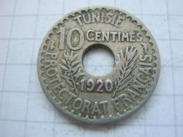 Tunisia , 10 Centimes 1920 - Tunisia