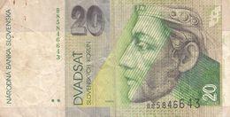20 KORUN 1997?, BANKNOTE, Umlaufschein - Slowakije