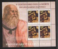 2019 - VATICAN - VATICANO - VATIKAN - S25L - MNH - SET OF 4 STAMPS   ** - Vatican
