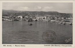 1941 SANTA MAURA Panorama Parziale Viaggiata Posta Militare N.37 (10.6) Non Affrancata Segni Tassazione - Grèce