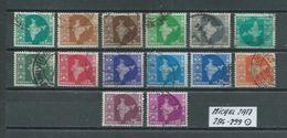 INDIEN MICHEL SATZ 286 - 299 Gestempelt Siehe Scan - Used Stamps