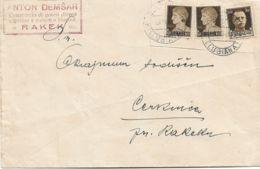 1941 LUBIANA C.2 (8.6) Su Busta Affrancata Imperiale C.30 E Due C.10 (busta Con Ritaglio) - Lubiana