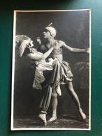 CARTOLINA FOTOGRAFICA  1923 - Danse