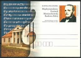 Poland 2004 Fi 1344 Postal Stationery ( Cp ZE4 PLD1344 ) - Muziek