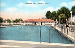 Ohio Defiance Swimming Pool 1945 - Etats-Unis