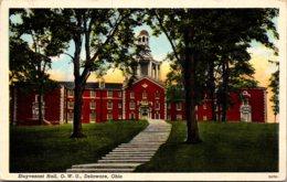 Ohio Delaware Stuyvesant Hall Ohio Wesleyan University 1942 Curteich - Etats-Unis