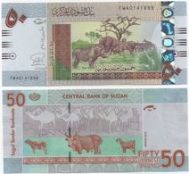Sudan North - 50 Pounds 2015 UNC P. 75b Lemberg-Zp - Sudan