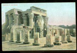 EGYPT * CPA * POSTCARD * TEMPLE OF COM OMBO  (50) - Egypte
