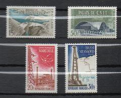 1959 -- Tps N° 1203 à 1206 ( 4 Valeurs)---Réalisations Techniques -- NEUFS ** --gomme Intacte--cote 3€  ....... - France