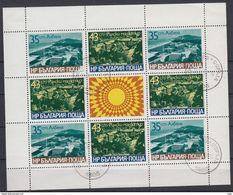 BULGARIJE - Michel - 1977 - F 2644/45 - Gest/Obl/Us - Blokken & Velletjes