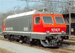 "Schweizerische Bundesbahnen SBB-CFF-FFS -  Locomotive éléctrique Re 4/4 IV 10101 ""Vallée De Joux"" - Equipment"