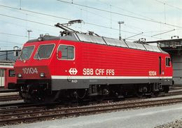 Schweizerische Bundesbahnen SBB-CFF-FFS -  Locomotive éléctrique Re 4/4 IV 10104 - Equipment