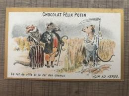 Vin De Banyuls Au Quinquina Felix POTIN  Le Rat De Ville Et Le Rat Des Champs - Chocolate