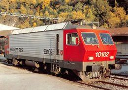 """Schweizerische Bundesbahnen SBB-CFF-FFS -  Locomotive éléctrique Re 4/4 IV 10102 """"Ostermundigen"""" - Equipment"""