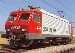 Schweizerische Bundesbahnen SBB-CFF-FFS -  Locomotive éléctrique  Re 4/4 IV 10102 - Equipment