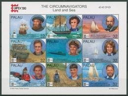 Palau 1996 CAPEX Personen, Die Die Welt Umrundeten 1014/22 K Postfrisch (C29055) - Palau