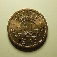 Portuguese Guiné 1 Escudo 1973 - Portugal