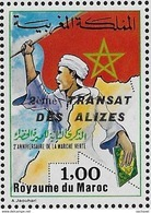 "Maroc;1984;TP N°976A ; "" Transat Des Alizés "" ;NEUFS**MNH;Morocco,Marruecos - Marokko (1956-...)"
