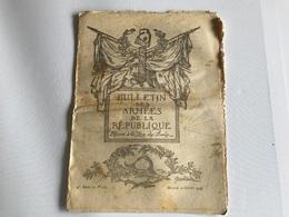 BULLETIN Des ARMÉES De La REPUBLIQUE N°267 - 10 Octobre 1917 - Guerra 1914-18