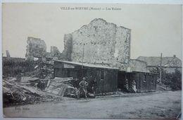 LES RUINES - VILLE En WŒVRE - France