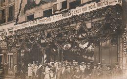 Poitiers Commerce A Dony ,sur Vitrine Peut Etre Limoges Ou Brive,??? 11 Novembre 1918 - Poitiers