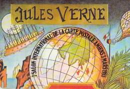 SALON COLLECTION - CARTE POSTALE - 80 - AMIENS (03/03/1985) 80 ème Anniversaire De La Mort De Jules VERNES - CPSM GF - Bourses & Salons De Collections