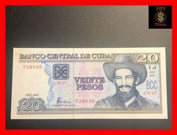 CUBA  20 Pesos  2005  P. 122  Spot UNC - Cuba