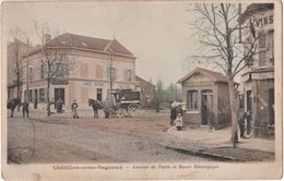 CPA : Chatillon Sous Bagneux  ( 92) Avenue De Paris Route Strategique Octroi - Châtillon